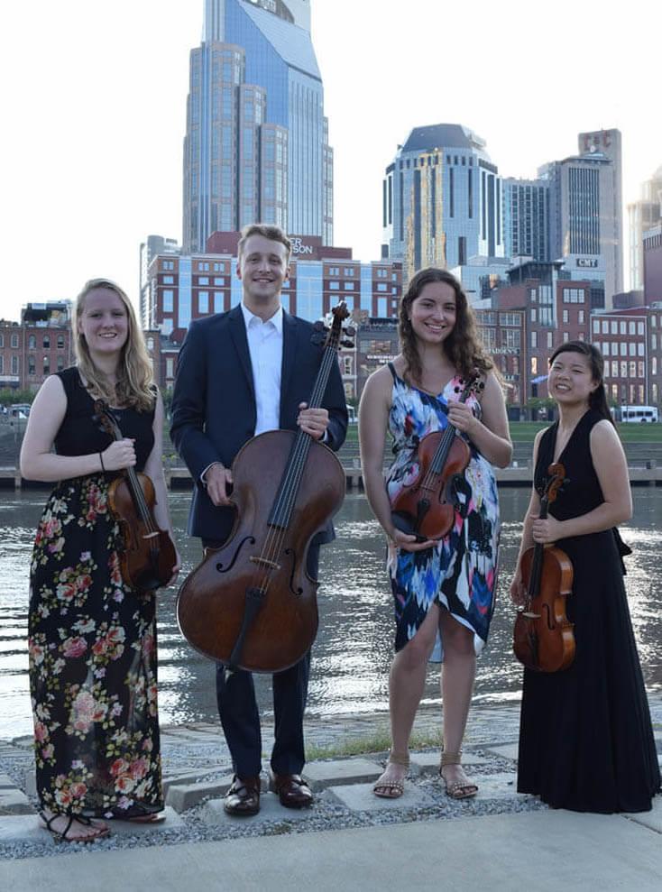 Music City String Quartet The perfect quartet in Nashville